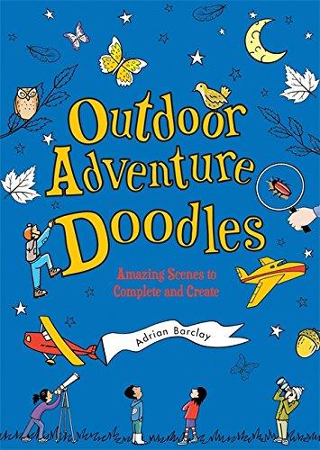 9780762452187: Outdoor Adventure Doodles: Amazing Scenes to Complete and Create