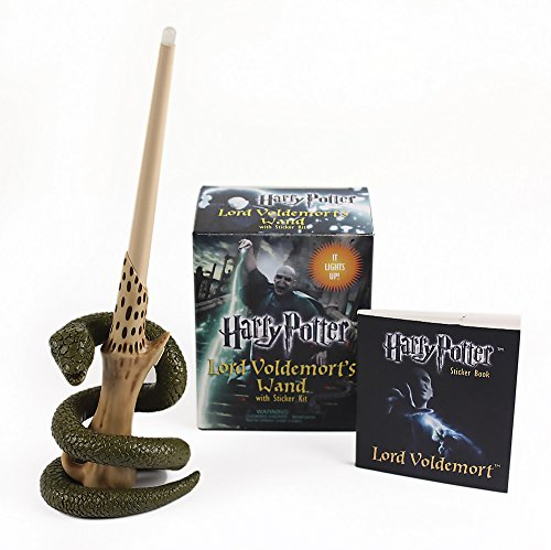 9780762452415: Harry Potter Voldemort's Wand with Sticker Kit