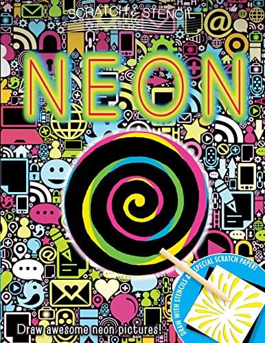9780762452811: Scratch & Stencil: Neon