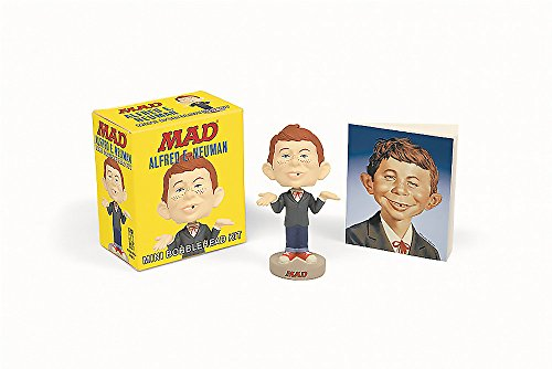 9780762453450: Alfred E. Neuman: Mini Bobblehead Kit