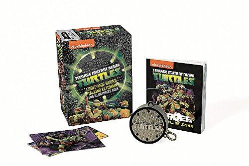 9780762453474: Teenage Mutant Ninja Turtles: Light-and-Sound Talking Keychain and Illustrated Book