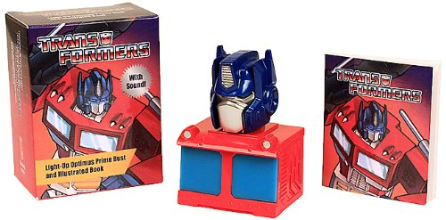 9780762454167: Transformers: Light-Up Optimus Prime Bust and Illustrated Bo (Running Press Mini Kit)