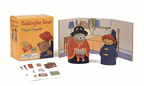 9780762454280: Paddington Bear: Finger Puppets [With Sticker(s) and Finger Puppets and Backdrop] (Running Press Mini Kit)