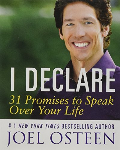 9780762454877: I Declare: 31 Promises to Speak over Your Life