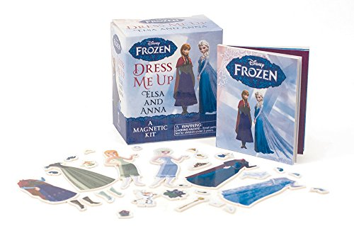 9780762457434: Frozen: Dress Me Up Elsa and Anna: A Magnetic Kit