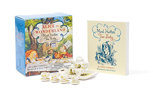 9780762457458: Alice in Wonderland Mad Hatter Tea Party (Miniature Editions)