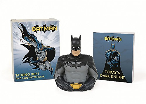 9780762458622: Batman: Talking Bust and Illustrated Book (Miniature Editions)