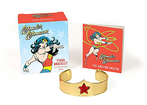 9780762458639: Wonder Woman Book and Tiara Bracelet