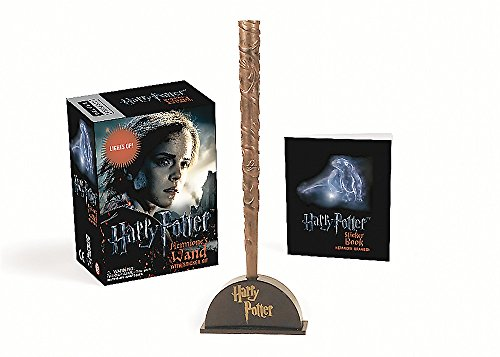 9780762459322: Harry Potter Hermione'S Wand With Sticker Kit (Miniature Editions)