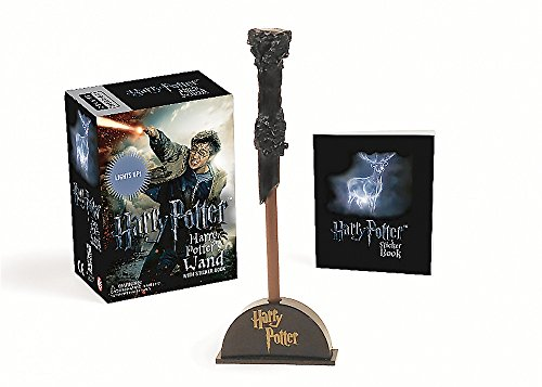 9780762459377: Harry Potter Wizard's Wand with Sticker Book: Lights Up! (Miniature Editions)