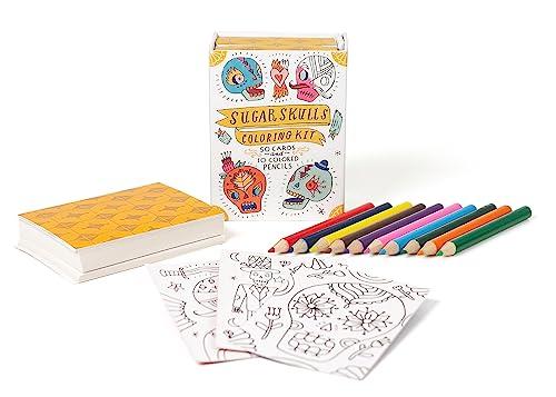 Sugar Skulls Coloring Kit (Min