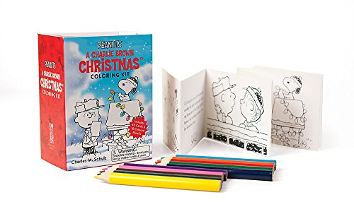 9780762461288: Peanuts: A Charlie Brown Christmas Coloring Kit