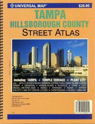 9780762507221: Tampa / Hillsborough County, FL Street Atlas