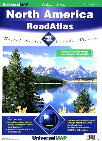 9780762511372: Universal Map 2000 North America Road Atlas: United States, Canada, Mexico