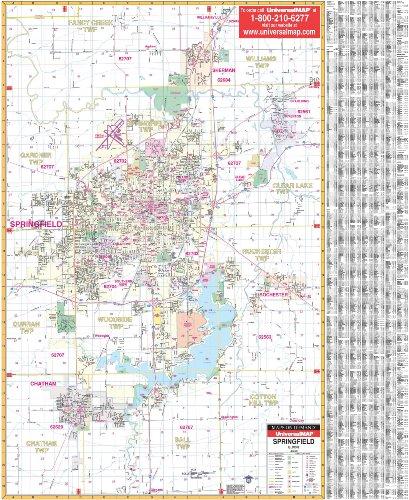 9780762513680: Springfield, Il (City Wall Maps)