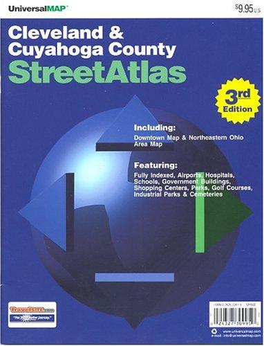 9780762522613: Cleveland/Cuyahoga County, Oh (City & County Street Atlas)