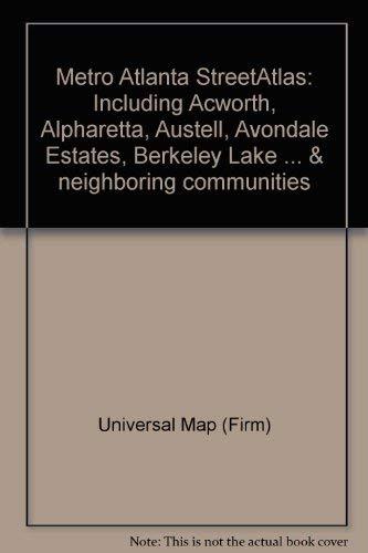 Atlanta, GA Metro Street Atlas: Universal Map (Firm)