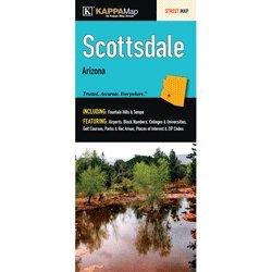 9780762525973: Scottsdale, AZ (City & County Street Folding Maps)
