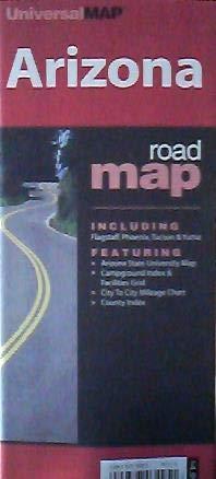9780762530205: Arizona Roadmap: Including Flagstaff, Phoenix, Tucson, Yuma: Featuring Arizona State University Map, City to City Mileage Chart, Major