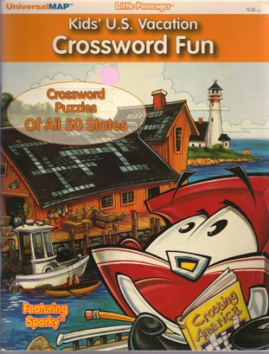 9780762535781: Kids U.S. Vacation Crossword Fun: Crossword Puzzles of all 50 states (Little Passenger)