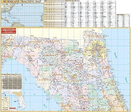 9780762538171: Florida Northeast Regional (State Wall Maps)
