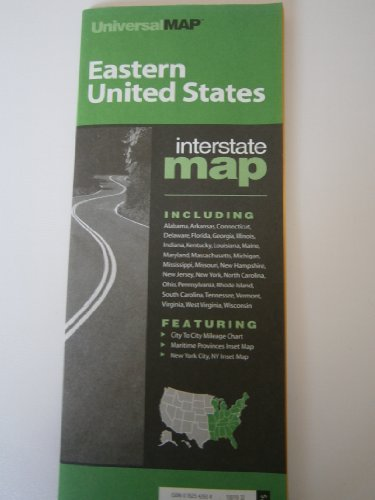 9780762542932: Us Eastern (U.S. Interstate Fold Maps)