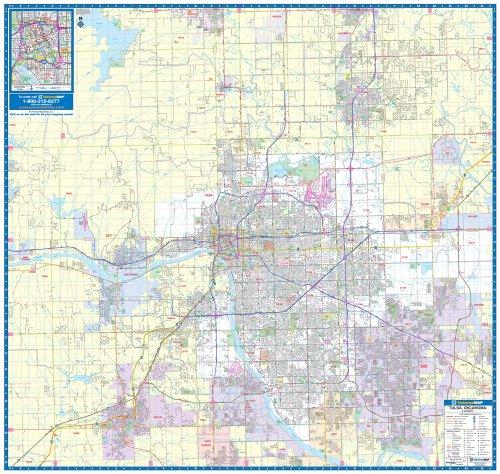 9780762543694: Tulsa, Ok (City Wall Maps)