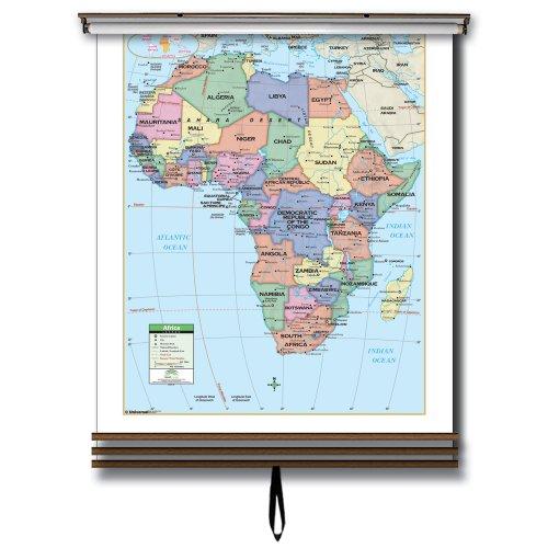 9780762544387: 3 Map Primary Wall Map Set-Eastern Hemisphere ... on
