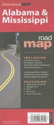 Alabama & Mississippi: Including: In Alabama: Auburn, Birmingham, Gadsden, Huntsville, Mobile, ...