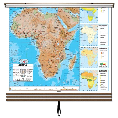9780762549276: 3 Map Advanced Physical Wall Map Set-Eastern Hemisphere (Advanced Physical Classroom Wall Maps)