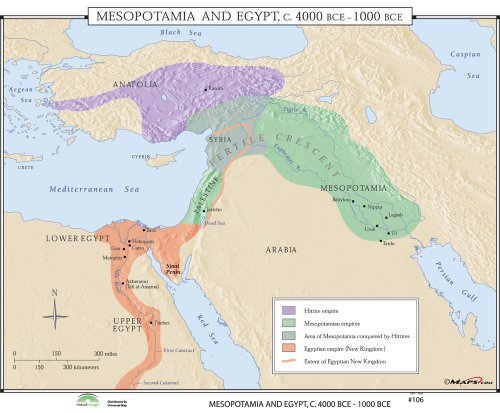9780762550050: Mesopotamia & Egypt (World History Wall Maps)