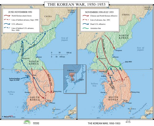 the details of the infamous korean war 1950 1953 Korean and vietnam war when did the korean war take place 1950-1953 how was the korean peninsula split after wwii us (south korea.
