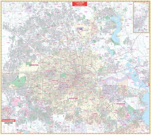 2009 Houston, TX (City Wall Maps): Seeger Map