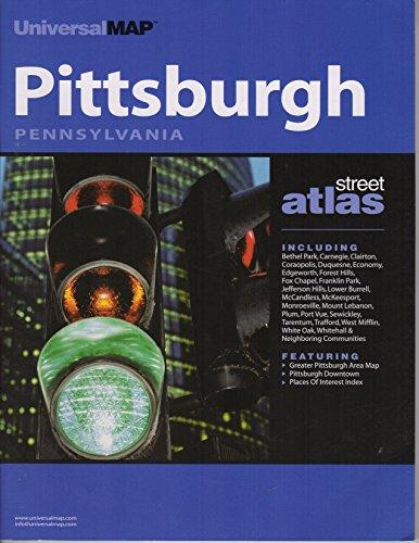 9780762562787: Pittsburgh, Pennsylvania Street Atlas