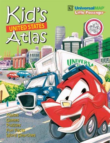 9780762564781: Kid's Interstate Road Atlas: Activity Map