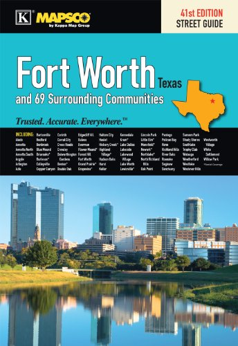9780762568888: Mapsco 2011 Fort Worth Street Guide (Mapsco Fort Worth Street Guide)