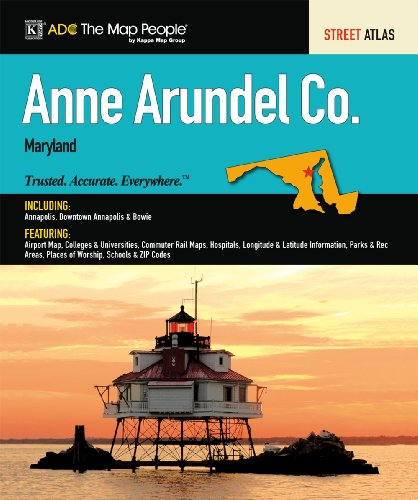 9780762569458: Anne Arundel County, MD Atlas (305271)