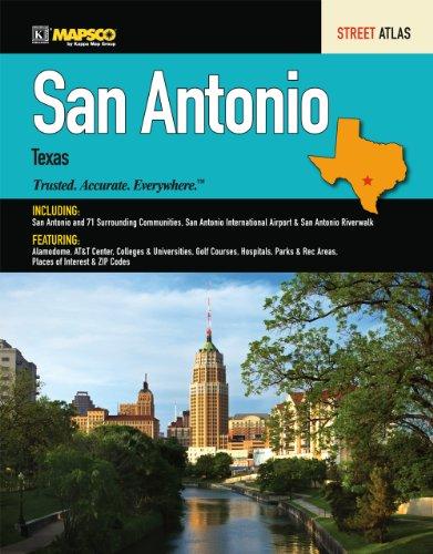 9780762569816: Mapsco 2011 San Antonio Street Guide (Mapsco Street Guide and Directory San Antonio)