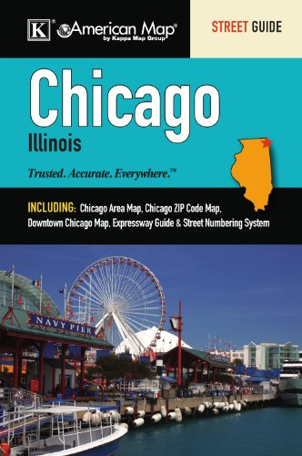 9780762572212 Chicago Il Street Guide Abebooks American Map