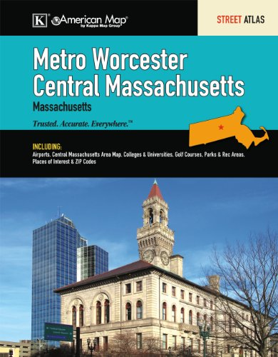 9780762572540: Worcester (Metro/Central), MA Atlas