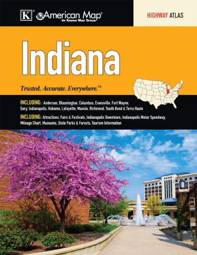 9780762573493: Indiana State Road Atlas