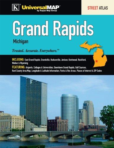 9780762574247: Grand Rapids, MI Atlas
