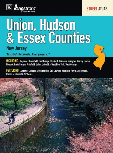 9780762575398: Union/Hudson/Essex, NJ Atlas
