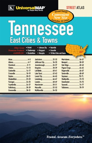 9780762575640: Tennessee East Cities and Towns