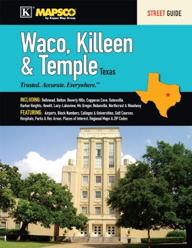 9780762575688: Waco, Killeen & Temple Street Guide