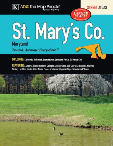 9780762578191: St Mary's County, MD Street Atlas
