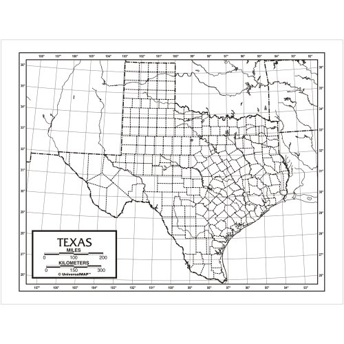 9780762578498: Texas Outline Pad Map