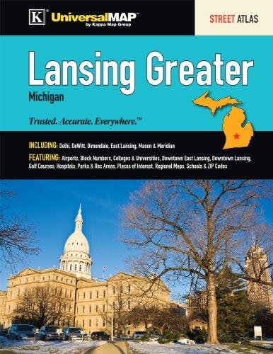 9780762578924: Lansing, MI Greater Street Atlas