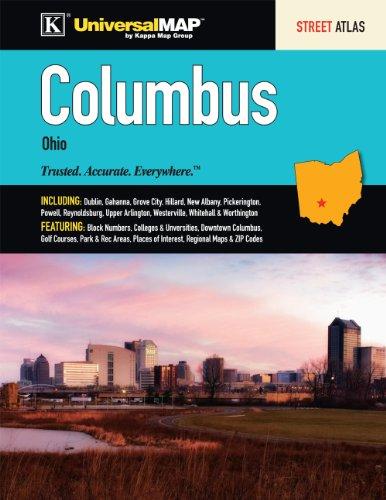 9780762580460: Columbus, OH Street Atlas