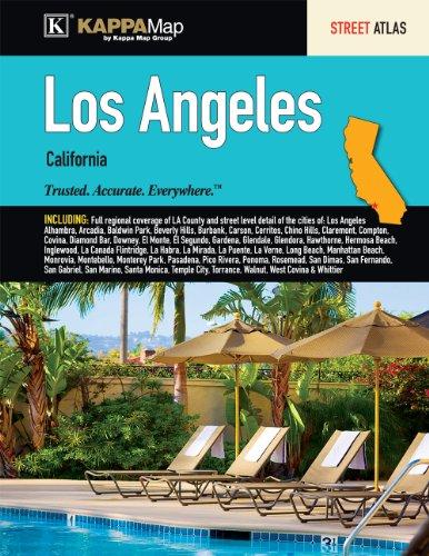 9780762580934: Los Angeles, CA Street Atlas